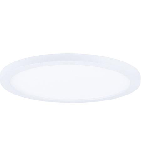 Maxim 57714wtwt wafer led 10 inch white flush mount ceiling light aloadofball Choice Image