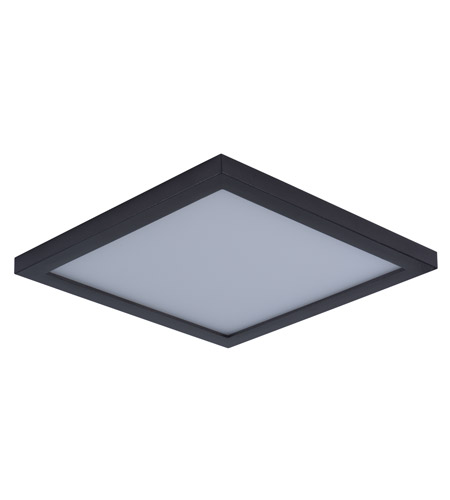Maxim 57724wtbz wafer led 9 inch bronze flush mount ceiling light aloadofball Choice Image