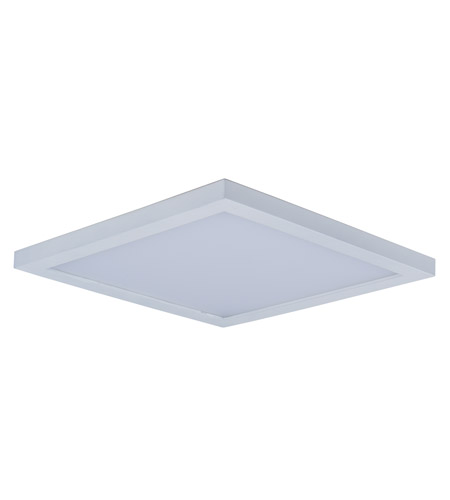Maxim 57724WTWT Wafer LED 9 Inch White Flush Mount Ceiling Light Photo