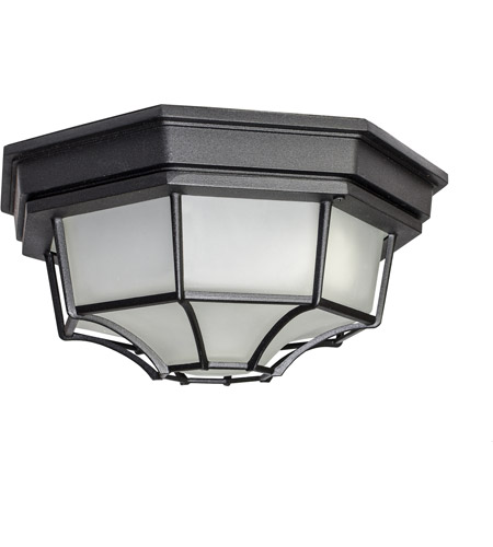 Maxim 57920BK Signature LED 12 inch Black Outdoor Ceiling Mount photo