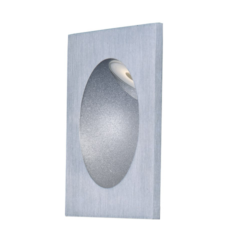 Brushed Aluminum Glass Outdoor Wall Lights
