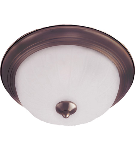 Maxim Lighting Signature 1 Light Flush Mount in Oil Rubbed Bronze 5830FTOI photo