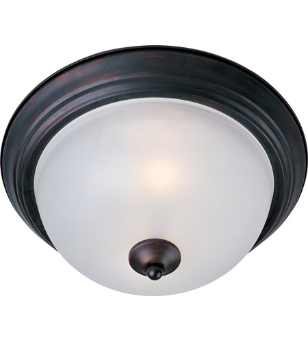 Maxim Lighting Signature 1 Light Flush Mount in Oil Rubbed Bronze 5840FTOI photo
