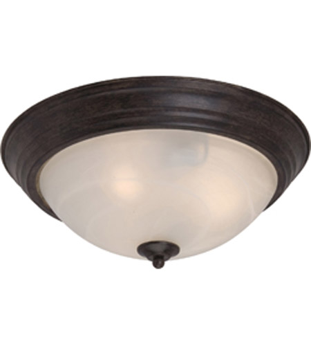 Maxim Lighting Signature 3 Light Flush Mount in Acorn 5842MRAC photo