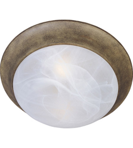 Maxim Lighting Signature 1 Light Flush Mount in Acorn 5850MRAC photo