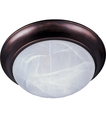 Maxim Lighting Signature 1 Light Flush Mount in Oil Rubbed Bronze 5850MROI photo