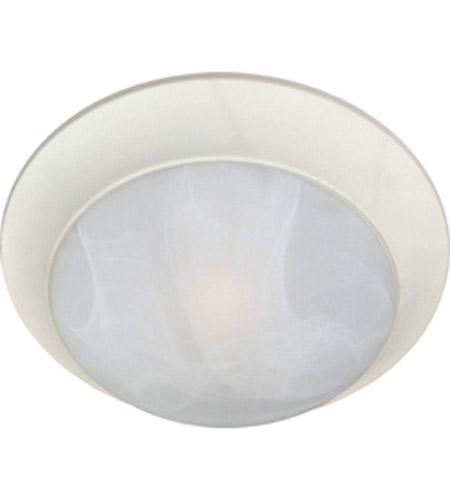Maxim Lighting Signature 1 Light Flush Mount in Textured White 5850MRTW photo