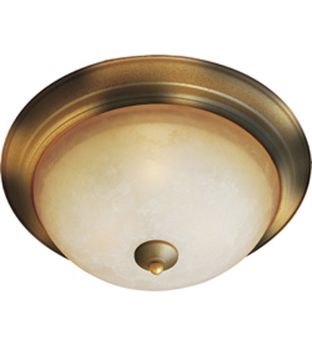 Maxim Lighting Maxim Flush Mount in Burnished Amber 5855LTBE photo