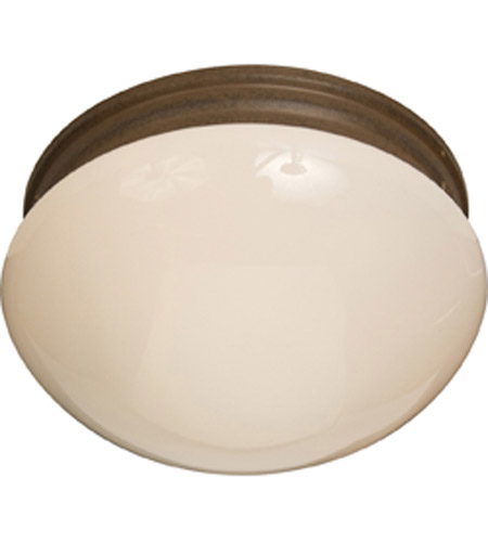 Maxim Lighting Signature 2 Light Flush Mount in Country Stone 5881WTCS photo