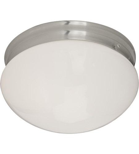 Maxim Lighting Signature 2 Light Flush Mount in Satin Nickel 5881WTSN photo