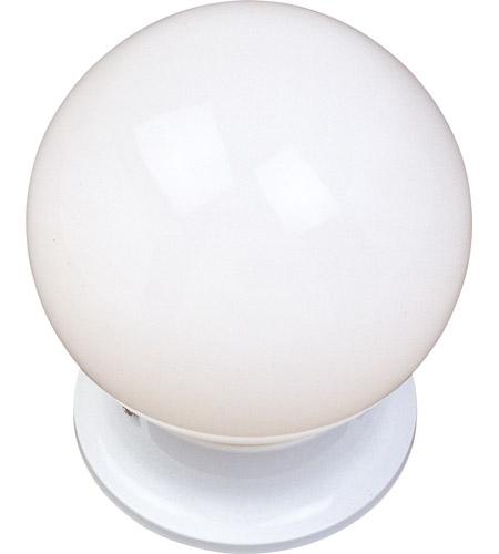 Maxim 5889wtwt signature 1 light 6 inch white flush mount ceiling light aloadofball Images