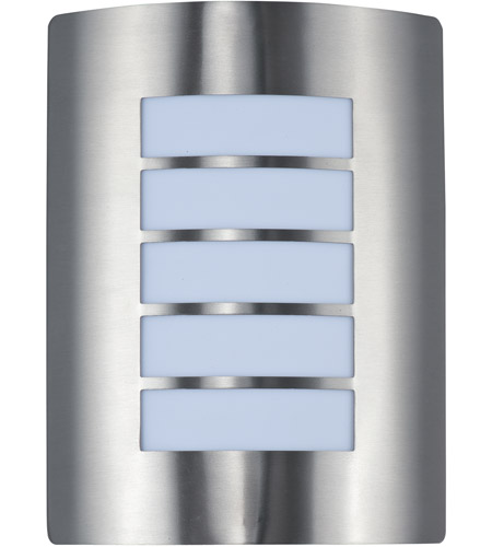 Maxim 64331wtsst View Led E26 11 Inch Stainless Steel Outdoor Wall Sconce