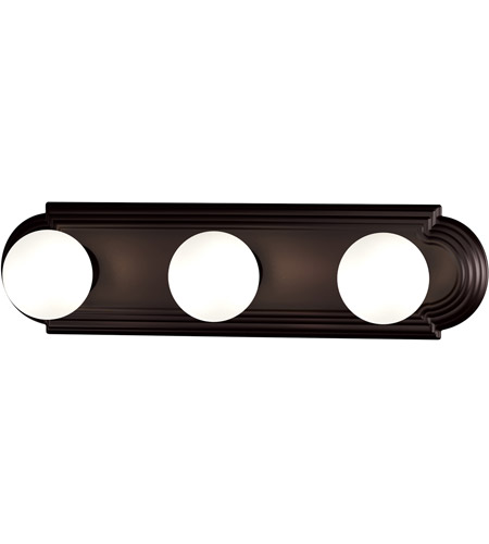 Maxim 7123OI Essentials 3 Light 18 inch Oil Rubbed Bronze Bath Light Wall Light photo