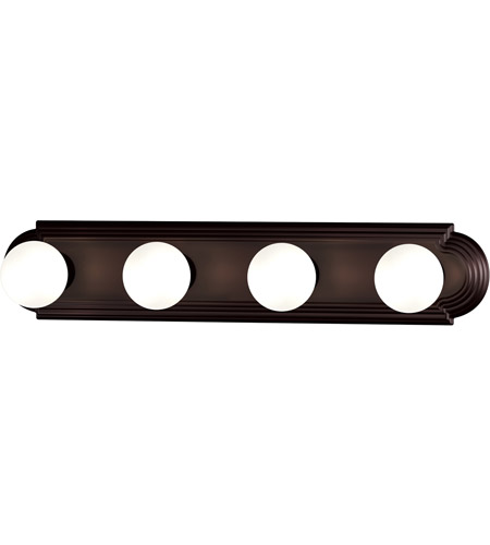 Maxim 7124OI Essentials 4 Light 24 inch Oil Rubbed Bronze Bath Light Wall Light photo