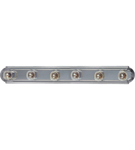 Maxim Lighting Essentials 6 Light Bath Light in Satin Nickel 7126SN photo