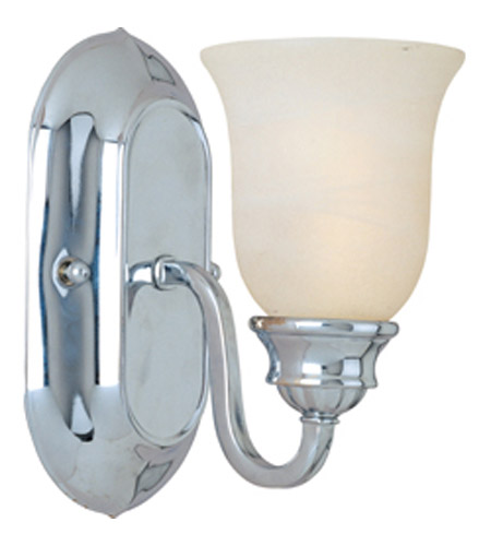 Maxim Lighting Essentials 1 Light Wall Sconce in Polished Chrome 7135MRPC photo
