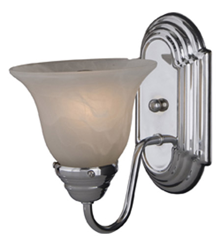 Maxim Lighting Essentials 1 Light Wall Sconce in Polished Chrome 8011MRPC photo