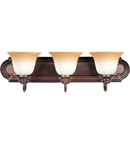 Maxim 8013WSOI Essentials 3 Light 24 inch Oil Rubbed Bronze Bath Light Wall Light in Wilshire photo