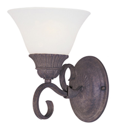 Maxim Lighting Canyon Rim 1 Light Wall Sconce in Canyon Rock 8030SVCR photo