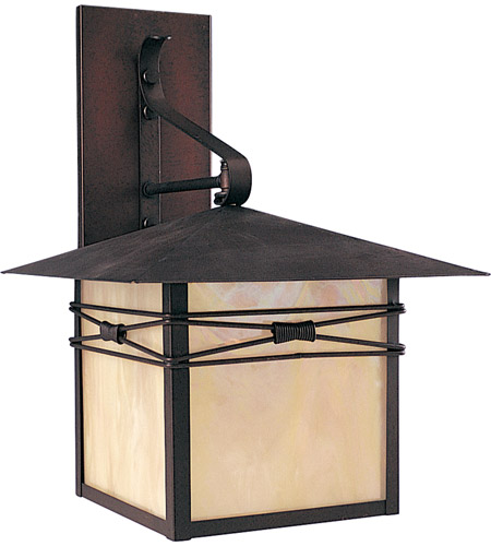 Maxim 8042IRBU Taliesin 1 Light 17 inch Burnished Outdoor Wall Mount photo