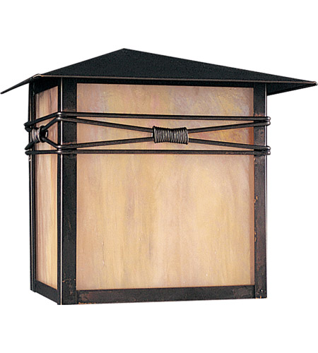 Maxim 8047IRBU Taliesin 1 Light 10 inch Burnished Outdoor Wall Mount photo