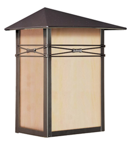 Maxim Lighting Taliesin 1 Light Outdoor Wall Mount in Burnished 8048IRBU photo