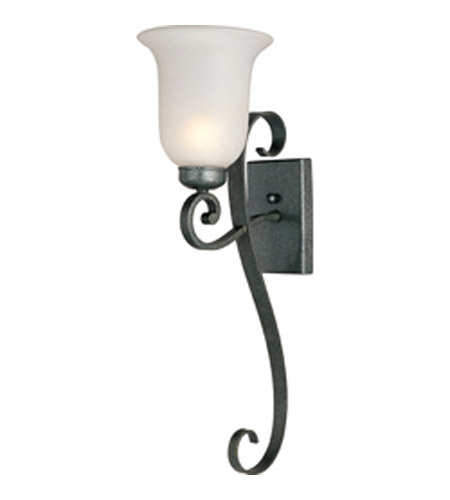 Maxim Lighting Signature 1 Light Outdoor Wall Mount in Natural Iron 8224FTNI photo