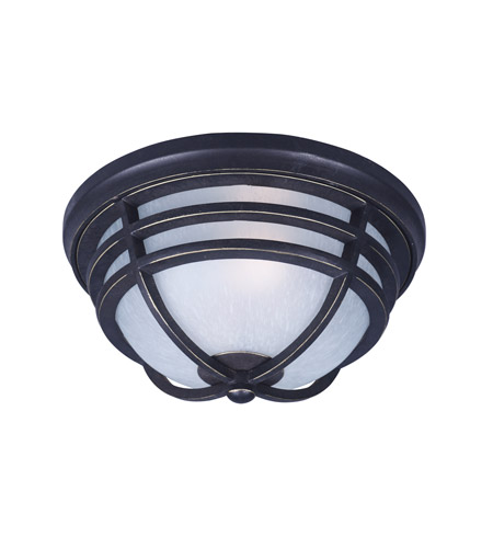 Maxim 84109WPAT Westport DC EE 1 Light 13 inch Artesian Bronze Outdoor Flush Mount photo