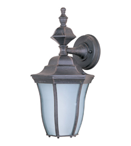 Maxim Lighting Madrona Energy Efficient 1 Light Outdoor Wall Mount in Rust Patina 85041RP photo