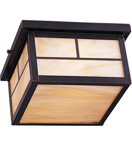 Maxim 85059HOBU Coldwater Energy Efficient 2 Light 9 inch Burnished Outdoor Ceiling Mount photo
