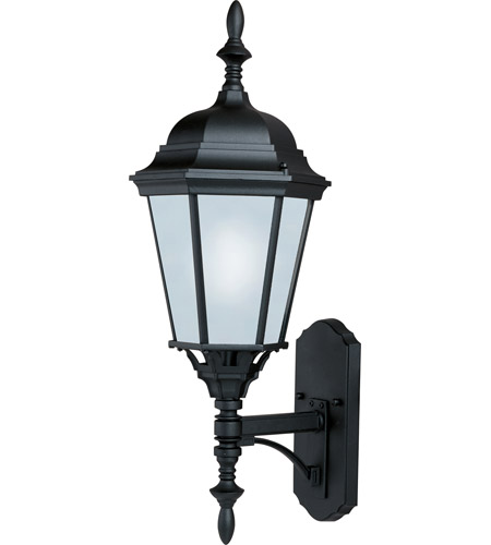 Maxim 85103BK Westlake Energy Efficient 1 Light 24 inch Black Outdoor Wall Mount photo