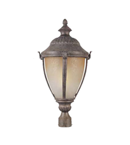 Maxim Lighting Manor 1 Light Outdoor Pole/Post Lantern in Earth Tone 85171LTET photo