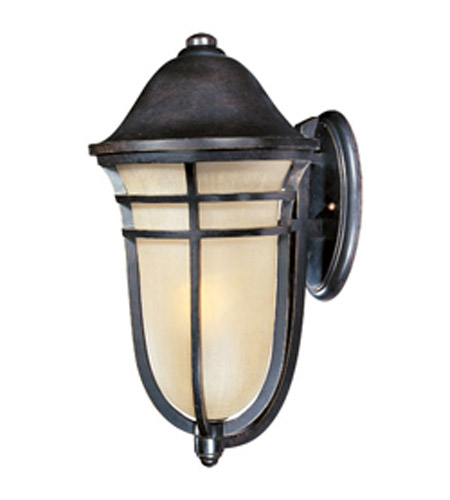 Maxim Lighting Westport VX Energy Efficient 1 Light Outdoor Wall Mount in Artesian Bronze 85404MCAT photo