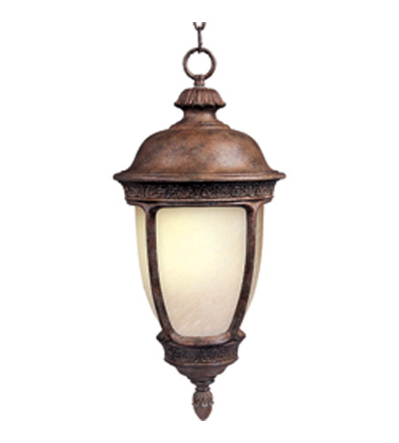 Maxim Lighting Knob Hill Energy Efficient 1 Light Outdoor Hanging Lantern in Sienna 85468SFSE photo