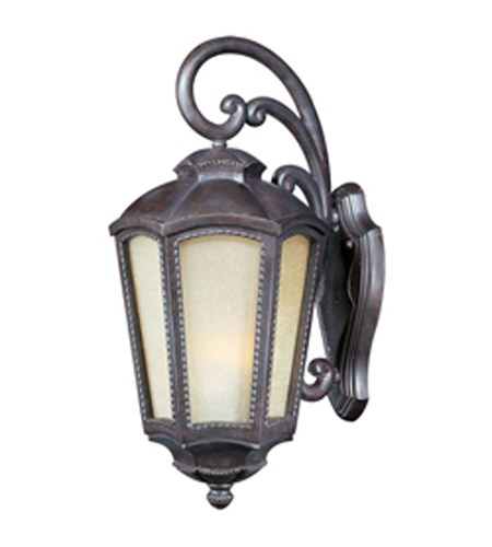 Maxim Lighting Pacific Heights VX Vivex Energy Efficient 1 Light Outdoor Wall Mount in Mottled Leather 85494TLML photo