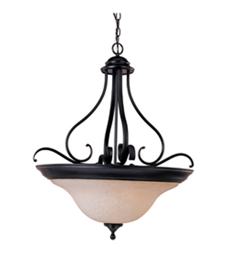 Maxim Lighting Linda Energy Efficient 4 Light Pendant in Oil Rubbed Bronze 85803WSOI photo