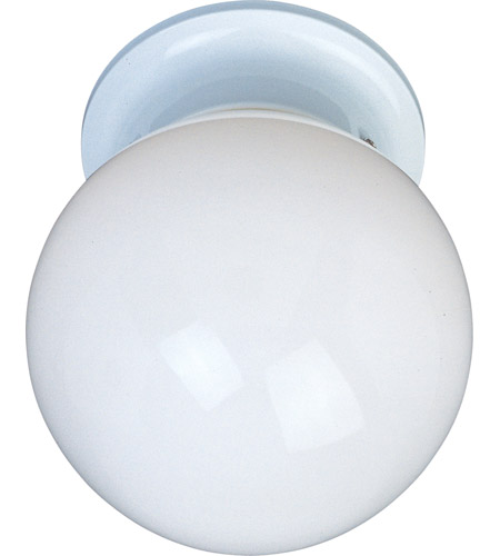 Maxim 85889wtwt utility energy efficient 1 light 6 inch white flush maxim 85889wtwt utility energy efficient 1 light 6 inch white flush mount ceiling light aloadofball Images