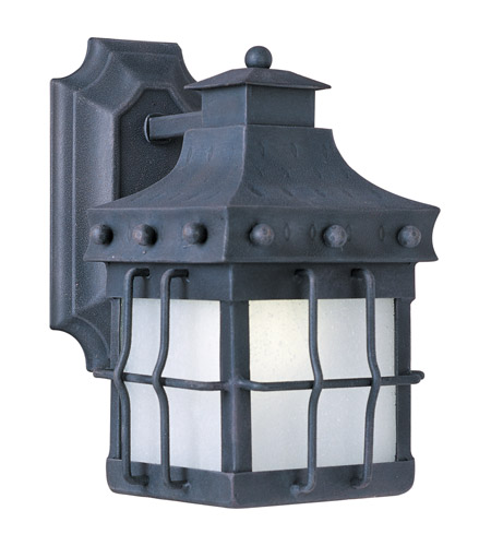 Maxim 86081FSCF Nantucket Energy Efficient 1 Light 11 inch Country Forge Outdoor Wall Mount photo