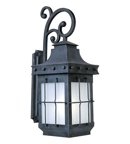 Maxim 86085FSCF Nantucket EE 1 Light 32 inch Country Forge Outdoor Wall Mount photo