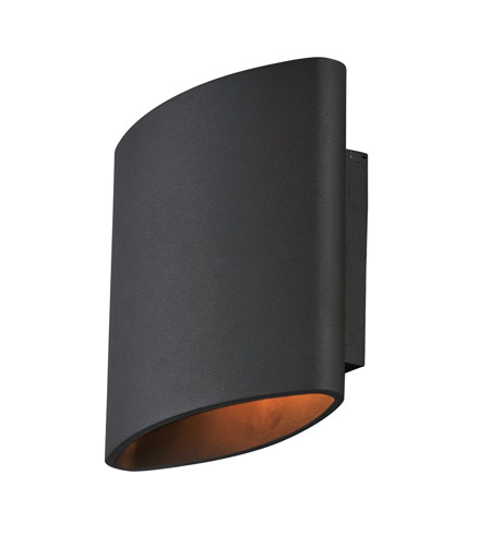Maxim 86152ABZ Lightray LED 7 inch Architectural Bronze Outdoor Wall ...