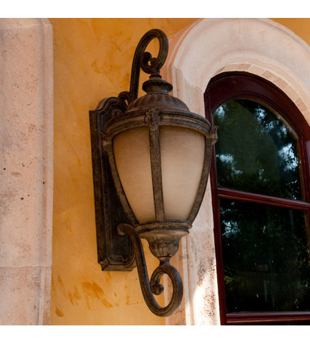 Maxim 86188LTET Morrow Bay Energy Efficient 1 Light 27 inch Earth Tone Outdoor Wall Mount photo