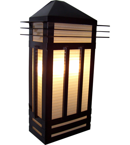 Maxim Lighting Gatsby 3 Light Outdoor Wall Mount in Burnished 8724PRBU photo