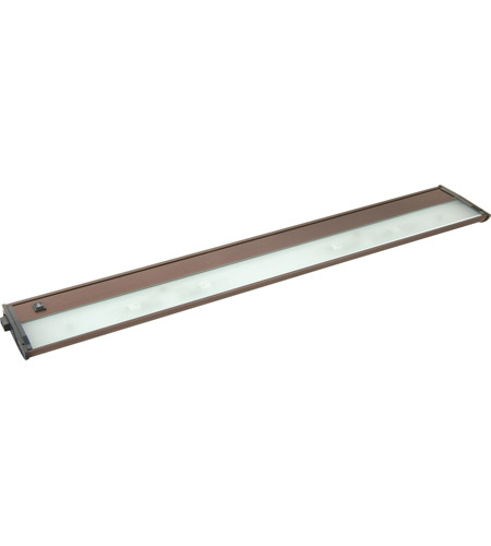 Maxim Lighting CounterMax MX-X12-LX 4 Light Under Cabinet in Anodized Bronze 87453BRZ photo