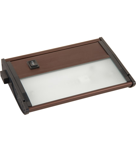 Maxim Lighting CounterMax MX-X12-LX 1 Light Under Cabinet Kit in Anodized Bronze 87459BRZ photo