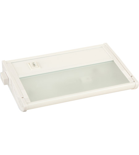 Maxim Lighting CounterMax MX-X12-LX 1 Light Under Cabinet Kit in White 87459WT photo