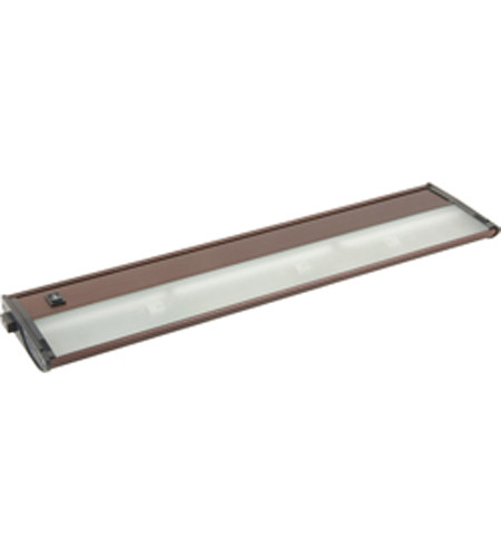 Maxim Lighting CounterMax MX-X12-LX 3 Light Under Cabinet Kit in Anodized Bronze 87462BRZ photo