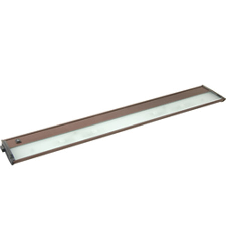 Maxim Lighting CounterMax MX-X12-LX 4 Light Under Cabinet Kit in Anodized Bronze 87463BRZ photo