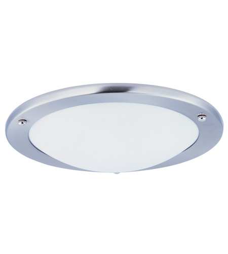 Maxim Lighting Portal LED Flush Mount in Satin Nickel 87554WTSN photo