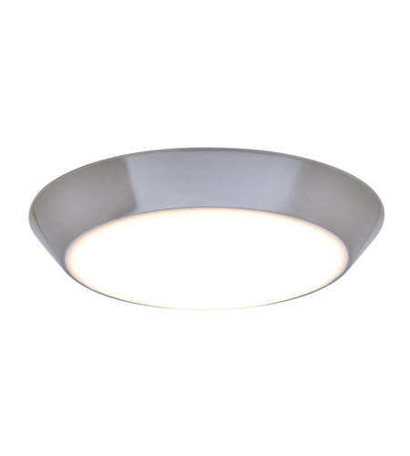 Maxim 87615wtsn convert led 8 inch satin nickel flush mount maxim 87615wtsn convert led 8 inch satin nickel flush mount ceiling light mozeypictures Images