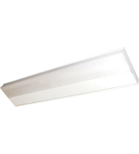 Maxim Lighting CounterMax MX-FD 1 Light Under Cabinet in White 87806WT photo